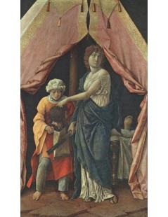 Tytuł: Judith and Holofernes, Autor: Andrea Mantegna