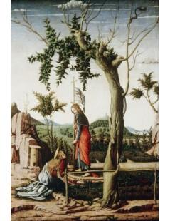 Tytuł: Noli me tangere, Autor: Andrea Mantegna