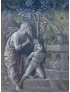 Tytuł: Offering of Isaac, Autor: Andrea Mantegna