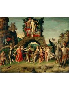Tytuł: Parnassus, Autor: Andrea Mantegna