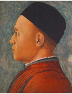 Tytuł: Portrait of a Man, Autor: Andrea Mantegna