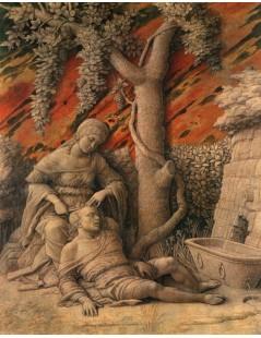 Tytuł: Samson and Delilah, Autor: Andrea Mantegna