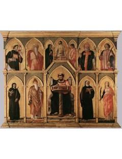 Tytuł: San Luca Altarpiece, Autor: Andrea Mantegna
