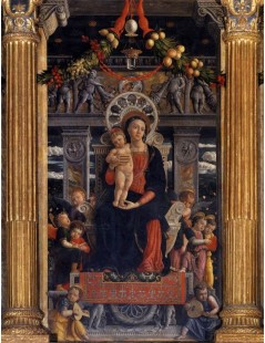 San Zeno Polyptych (central panel)