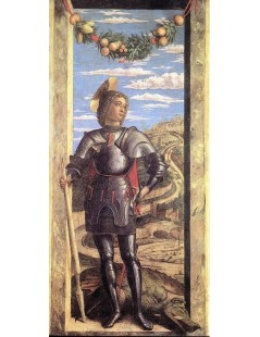 Tytuł: St George, Autor: Andrea Mantegna