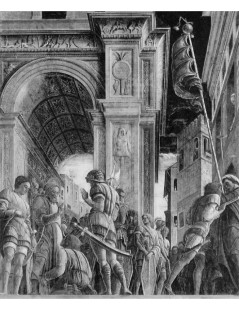 Tytuł: St James on the way to his execution, Autor: Andrea Mantegna