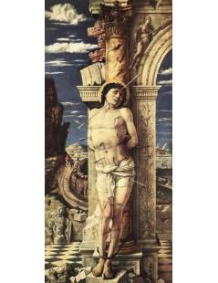 Tytuł: St Sebastian, Autor: Andrea Mantegna