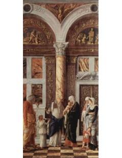 Tytuł: The Circumsicion of jesus, Autor: Andrea Mantegna