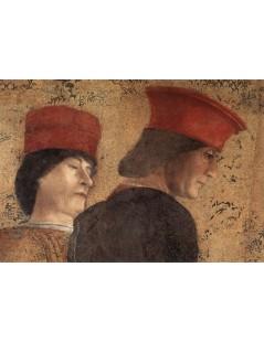 Tytuł: The Court of Mantua (detail), Autor: Andrea Mantegna
