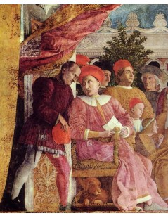 The Court of Mantua (detail)