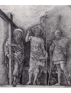 Tytuł: The Resurrection of Christ, Autor: Andrea Mantegna