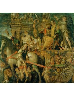 Tytuł: The Triumphs of Caesar, Autor: Andrea Mantegna