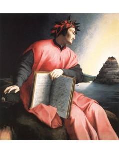 Tytuł: Allegorical portrait of Dante, Autor: Agnolo Bronzino