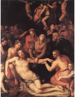 Tytuł: Deposition, Autor: Agnolo Bronzino