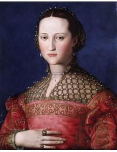 Tytuł: Eleonora di Toledo, Autor: Agnolo Bronzino