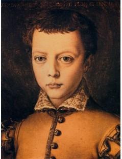 Tytuł: Ferdinando de Medici, Autor: Agnolo Bronzino