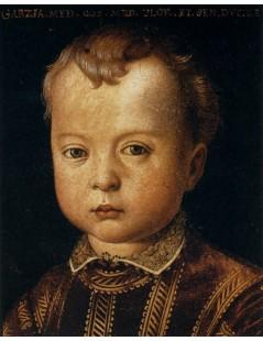 Tytuł: Garcia de Medici, Autor: Agnolo Bronzino
