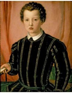 Tytuł: Giovanni de Medici, Autor: Agnolo Bronzino