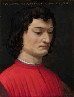 Tytuł: Giuliano di Piero de Medici, Autor: Agnolo Bronzino