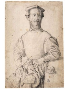 Tytuł: Jacopo Carrucci, called il Pontormo, Autor: Agnolo Bronzino