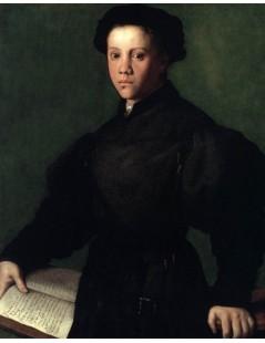 Tytuł: Lorenzo Lenzi, Autor: Agnolo Bronzino