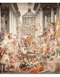 Tytuł: Martyrdom of St Lawrence, Autor: Agnolo Bronzino