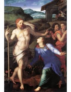 Tytuł: Noli me tangere, Autor: Agnolo Bronzino