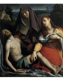 Tytuł: PietÄ?, Autor: Agnolo Bronzino