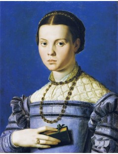 Tytuł: Portrait of a Young Girl, Autor: Agnolo Bronzino