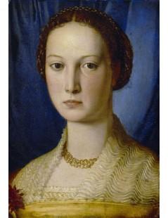 Tytuł: Portrait of Costanza da Sommaia, Autor: Agnolo Bronzino