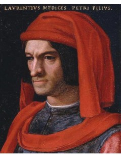 Tytuł: Portrait of Lorenzo the Magnificent, Autor: Agnolo Bronzino
