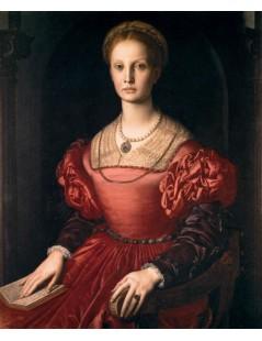 Tytuł: Portrait of Lucrezia Panciatichi, Autor: Agnolo Bronzino
