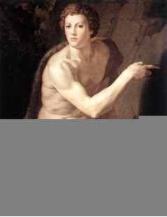 Tytuł: St John the Baptist, Autor: Agnolo Bronzino