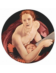 Tytuł: St Matthew, Autor: Agnolo Bronzino