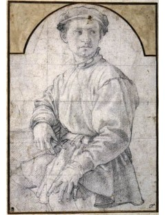 Tytuł: Study of a Young Man with a Lute, Autor: Agnolo Bronzino