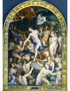Tytuł: The Descent of Christ to Limbo, Autor: Agnolo Bronzino