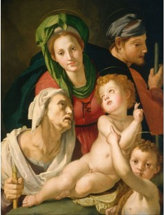 Tytuł: The Holy Family, Autor: Agnolo Bronzino