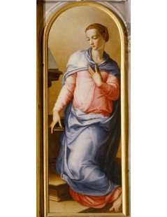 Tytuł: Virgin of the Annunciation, Autor: Agnolo Bronzino