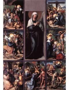 Tytuł: The Seven Sorrows of the Virgin, Autor: Albrecht Durer