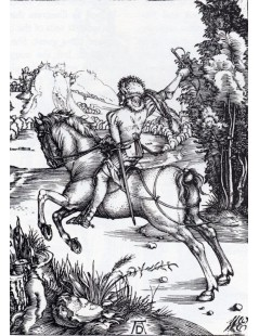 Tytuł: The Small Courier, Autor: Albrecht Durer