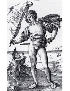 Tytuł: The Standard Bearer, Autor: Albrecht Durer