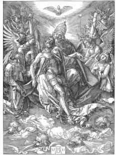 Tytuł: The Trinity, Autor: Albrecht Durer