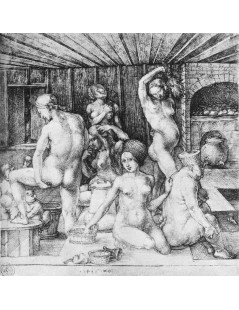 Tytuł: The Womens Bath, Autor: Albrecht Durer