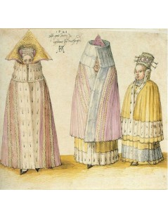 Tytuł: Three Mighty Ladies from Livonia, Autor: Albrecht Durer