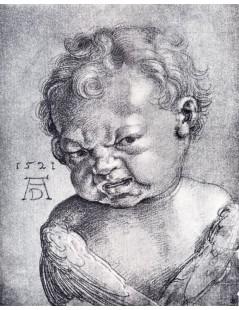 Tytuł: Weeping Cherub, Autor: Albrecht Durer