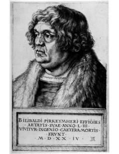 Tytuł: Willibald Pirckheimer, Autor: Albrecht Durer