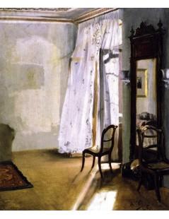 Tytuł: Balcony Room, Autor: Adolph Menzel