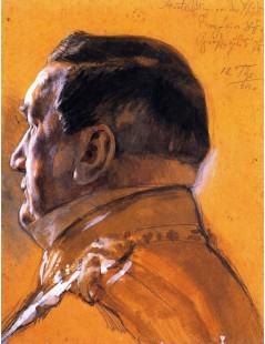 Tytuł: Baron von der Heydt, Minister of State, Autor: Adolph Menzel