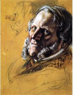 Tytuł: Baron von Patow, Minister of State, Autor: Adolph Menzel