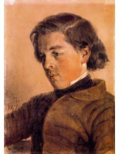 Tytuł: Carl Johann Arnold, Autor: Adolph Menzel